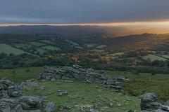 The Golden Touch (www.neilporterphotography.com) Tags: dartmoor sunrise hound tor