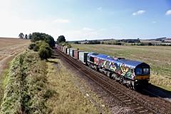 66718 Slitting Mill UWC 20 Sep 19 (doughnut14) Tags: 66718 gbrf hendy rail freight diesel loco cum slitting oldroad 4e34 southampton doncaster midland
