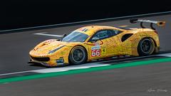 (66) JMW Motorsport - Ferrari F488 GTE EVO (adetandyphotography) Tags: silverstone wec 2019 lamborghini huracan gte gt3 open gt international world endurance championship panny blur pan fast car racing track circuit