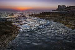 Castel Boccale (szn_d) Tags: italy livorno castel boccale sea sunset landscape beautiful canon