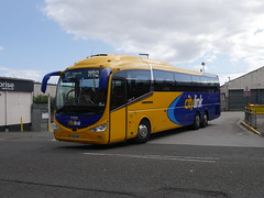 Edinburgh Coach Lines Scania K410EB6 Irizar i6 YR68NMF, in Citylink livery, operating service M92 to Edinburgh departing Dundee Bus Station on 11 September 2019. (Robin Dickson 1) Tags: busesdundeeandaberdeen yr68nmf edinburghcoachlines citylink scaniak410eb6 irizari6