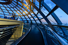 Nearing the Top of the Dome (George Plakides) Tags: dome sirnormanfoster berlin bundestag reichstag kuppelwalkway federal parliament