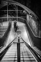 Heavy Bags (paulbnashphotography (ARPS)) Tags: street streetphotography streetphoto streetlife london londonbaby londonphoto londoncitycapital londoncity blackandwhite blackandwhitephotography blackandwhitephoto whiteandblack whiteandblackphotography whiteandblackphoto stairs urban urbanphotography uk