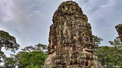 180726-176 Le Bayon, Angkor Thom (2018 Trip) (clamato39) Tags: bayon angkor angkorthom temple religieux religion landmark old ancient ancestrale antiquité patrimoine voyage trip cambodge cambodia asia asie samsung