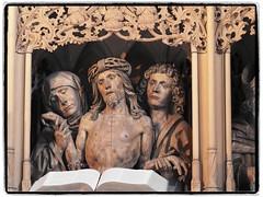 Christus mit Johannes und Maria (1elf12) Tags: heilbronn kilianskirche church germany deutschland marienaltar hansseyfer christus