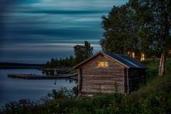 _DSC3837 (pettak) Tags: sweden sverige sky night natt nikon nature norrland north marsfjället saxnäs