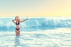 Sunset Sea (toriasoll) Tags: bjd abjd fairyland fairylandbjd fairylandminifee minifee minifeechloe mnfchloe mnf