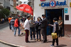 A Man on the Street Interview (Andrew Oid) Tags: ecuador cuenca streetphotography