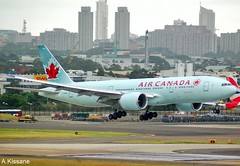 AIR CANADA B777 C-FNNH (Adrian.Kissane) Tags: airliner airline jet plane aircraft aeroplane 777 aviation flight flying australia landing arriving city sky outdoors 35247 712009 b777 cfnnh sydney aircanada