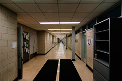 DSC_0159 (spablab) Tags: nikon d3500 tokina 1224 chicago hallway leading lines neiu vsco fortia fuji