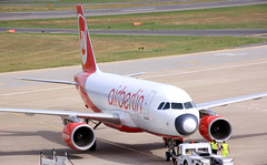 Air Berlin A319 D-APGP pushing back at TXL/EDDT (Jaws300) Tags: berlintegelairport tegelairport canon500d air berlin airberlin pushback tow txl eddt tegel berlintegel ber airport airbus tug towtug towtruck a320 a319 dabgp ab airplane aircraft airlines canon 500d international airways eos deutschland germany plane pushing back push departure departing defunct outofbusiness derelict gone euro eu europe europa runway taxiway lcc lowcostcarrier low cost eos500d cfmi cfm56 lowcost eurowings exniki ew ewg lufthansa lufthansagroup dapgp