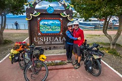It took us almost five years to cycle here from Northern Canada!