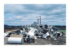 A view in the dump (jellygeist) Tags: pentax pentaxlx analog film slidefilm kodak ektachrome e100 kodakektachrome 35mm 35mmfilm manitoba