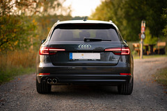 Audi A4 B9 (Christoph Wenzel) Tags: quattro deutschland sonyalpha7riii sonysel85mmf18 sonnenuntergang thüringen neuhausamrennweg a4 audi sommer auto