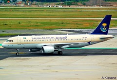 SAUDI A320 HZ-ASA (Adrian.Kissane) Tags: airliner airline jet plane aircraft airbus aeroplane taxing sky outdoors germany ramp airport 4081 1362010 a320 hzasa frankfurt saudi