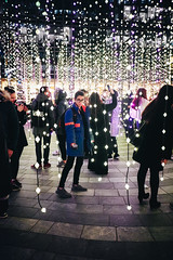 Winter Lights Festival 2019 (Viv Lynch) Tags: london england uk urban lights night festival nighttime lowlight canarywharf eastend winter january