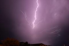 lightning overhead (scott a borack) Tags: monsoon arizona clouds sky storm lightning