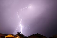 lightning backyard (scott a borack) Tags: monsoon arizona sky clouds storm lightning