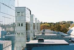 Låghusdelen lite från ovan (Linzen004) Tags: stockholmsuniversitet byggnad