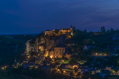 Twilight on Rocamadour [Explore 24-09-2019] (Philippe Cabaret) Tags: twilight rocamadour philippecabaret d800 nikonlens nikonbody nikond aperture prioritéouverture f14 tonemapping wonderfulword france french raw rawshot cameraraw dngconverter augrédescheminsderandonnée oneday oneofthesedays lot46 midipyrénées twilightcolors crépuscule lescheminsdemonpays night nightfall nightcolours nightlight nightshot nightscape bluehour heurebleue aloneinthenight seuldanslanuit explore24092019