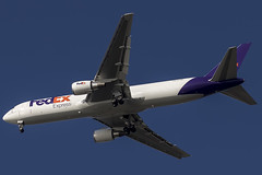 """Federal Express (FedEx) Boeing 767-3S2F/ER """"Benoît"""" N157FE (pointnshoot) Tags: canonef100400mmf4556lisiiusm haywardregionalshoreline haywardshoreline federalexpress fedex boeing767 b763 benoît n157fe"""