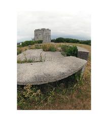 castle on a hill (chrisinplymouth) Tags: mountbatten plymouth devon england city turret tower castle fisheye hilltop concrete cw69x xg wb trait cameo