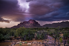 8I6A5282-2 (Greg Meyer MD(H)) Tags: arizona lightening clouds drama mountain river sky storm things ngc lightning water salt