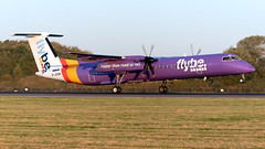 Flybe G-JEDM Dash 8 EGCC 21.09.2019 (airplanes_uk) Tags: 21092019 aviation dash8 flybe gjedm man manchesterairport planes avgeek