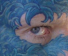7 (face_tattoo) Tags: face tattoo facetattoo facialtattoo tatuaje cara tatuajefacial azul blue ojo eye selfie autorretrato selfportrait spain españa tat párpados eyelids portrait retrato bodymod modificacióncorporal tattooed tatuado tinta ink inked tatu waves olas seawavestattoo model modelo publicdomaindedication cc0 publicdomain dominiopúblico creativecommons caratatuada freedom libertad cool stylish trendy fashionable hep vibe fashion hip vogue modish smart andalucía andalusia elpuerto elpuertodesantamaría puertodesantamaría andaluz crazy loco
