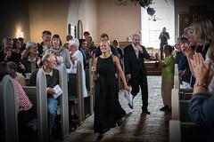 Curtain call (hanschristian_nielsen) Tags: fejøsfestival festival fejø denmark church concert curtaincall music musician instrument audiance people flute ingridneset moritzwinkelmann