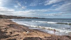 The coast at Dunbar, East Lothian (Baz Richardson) Tags: scotland eastlothian coast beaches northsea dunbar