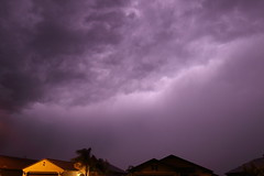 lightning in the cloud (scott a borack) Tags: monsoon arizona clouds sky storm lightning