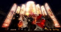 COMING SOON to a Gacha Guild near you! (KokumaKun) Tags: goat baphomet fox fennec cult demonic cute shibi spirit okami deer church cathedral nutbusterz nutbusters sheep magic