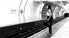 Looking for what matters (canonsnapper) Tags: street streetphotography candid underground londonunderground olympusomdem5markll tube