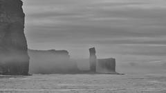 The Old Man of Hoy (@WineAlchemy1) Tags: oldmanofhoy hoy orkneyislands coast sea cliffs stack scotland climbing oldredsandstone rackwick stjohnshead blackandwhite nerosubianco noiretblanc blancoynegro monochrome landscape seascape