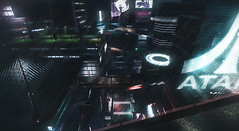 >>TonicRains (El Kavla) Tags: cyberpunk cocoon street futurist color catwa boy man doux glasses insanity city add tags solarpunk utopia second life sl futuristic future android scifi science fiction secondlife video game 2019 moon colony space 2077 genus 2049 2020 br blade runner joi 2027 neo japan
