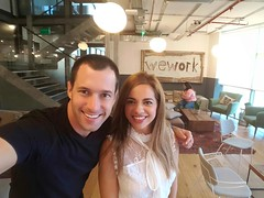 20190924_With Widad at WeWork (Assaf Luxembourg) Tags: assaf luxembourg widad altouche