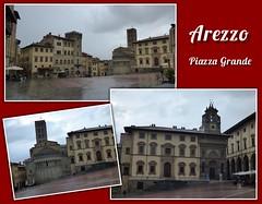 Arezzo (ursula.valtiner) Tags: stadt town piazzagrande film movie daslebenistschön lavitaèbella lifeisbeautiful robertobenigni arezzo toskana toscana tuscany italien italy