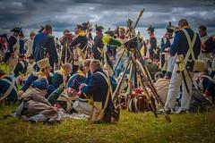 _MG_1696 (Mikhail Lukyanov) Tags: reconstruction actors war 1812 russia borodino russians french soldiers halt military uniform men