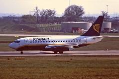 Photo of EI-GJF Boeing 737-200 Ryanair BHX 11-04-1995