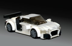 Audi_R8-04 (_TLG_) Tags: car speed champions race street racer racing minifigure studless cars sportscar supercar hypercar auto automobile automotive power fast vehicle super lego moc 6studs audi r8 legocar speedchampions legoideas