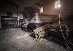Tomb (trip_mode) Tags: abandoned decay urbex urban exploration exploring trip derelict trespassing sacral skull bones dead chapel creepy