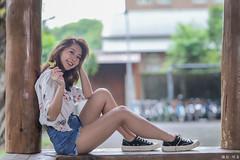 IMG_8028L (攝影玩家-明晏) Tags: 饒詩婕 人 人像 戶外 outdoor 美女 辣妹 model 外拍 外拍模特兒 portrait pretty