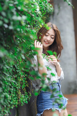 IMG_8047L (攝影玩家-明晏) Tags: 饒詩婕 人 人像 戶外 outdoor 美女 辣妹 model 外拍 外拍模特兒 portrait pretty