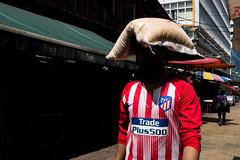 (@AmirsCamera) Tags: kualalumpur petalingstreet colour color shadow light man people walking walkby funny chinatown fujifilm x100s april 2019 hat head