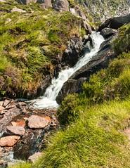 Cascade (ivanstevensphotography) Tags: cascade grass water waterfall irelanddiscover rocks mountains hills moss bog boggy wet foliage flowers