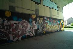 Peyo fanart? (Minus van Baalen) Tags: peyo smurfs schtroumpfs gargamel graffiti yvette france