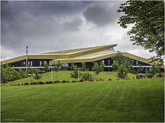 Concerthall (Luc V. de Zeeuw) Tags: concerthall grass park ventspils latvia