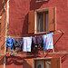 Drying Clothes in italy