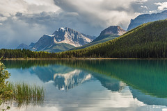 Waterfowl Lake Reflections (Cole Chase Photography) Tags: icefieldsparkway banff canada alberta